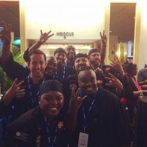 USVI Culinary Team at Taste of the Islands
