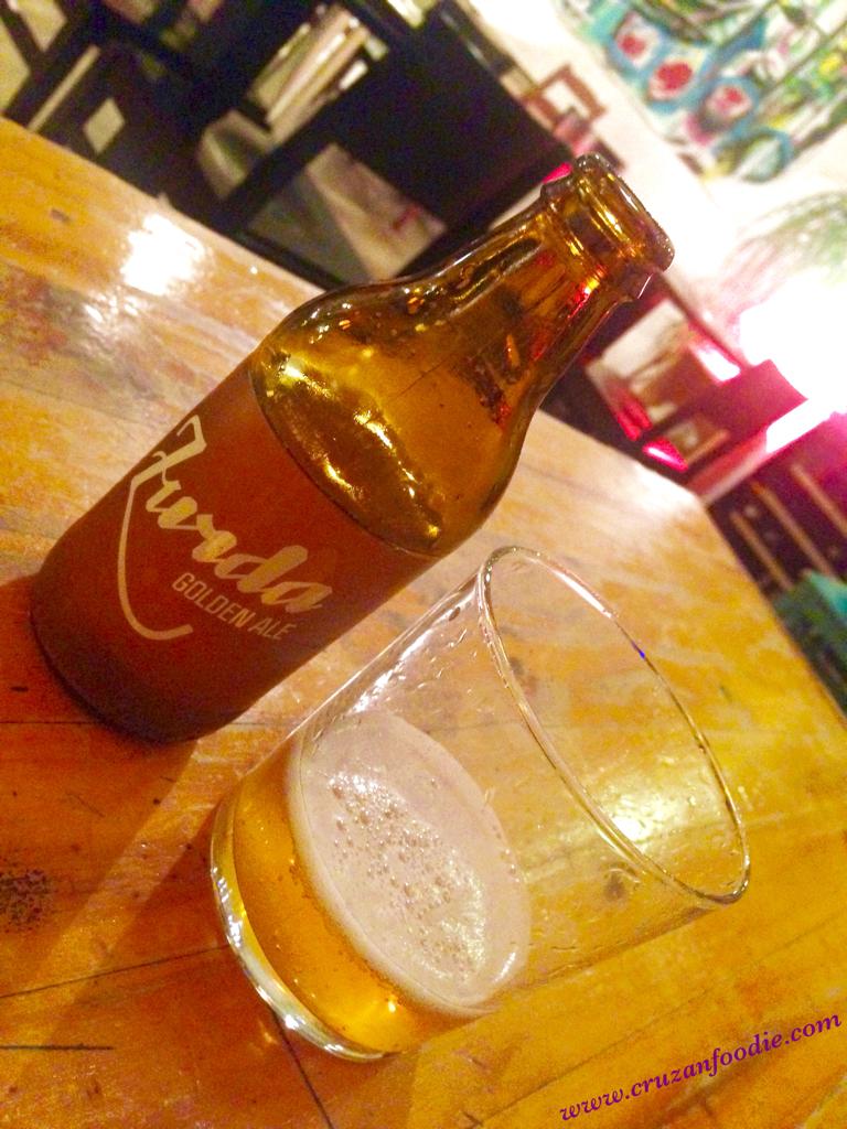 Zurda Golden Ale w: watermark