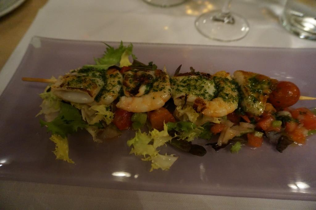 Food Tour in Seville - Shrimp Tapa