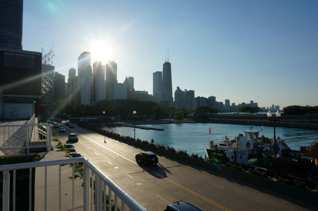 Solo travel to Chicago